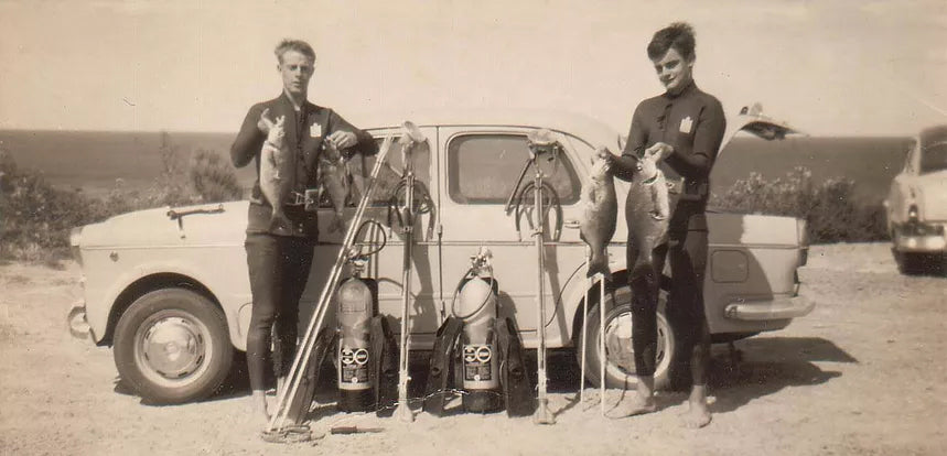 Spearfishing History