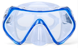 Clearview Frameless Mask Black or Blue