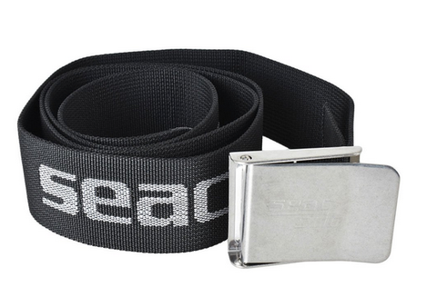 Seac nylon weight belt stainless buckle