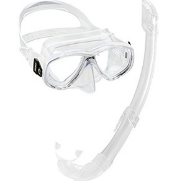 Cressi Perla Mask & Snorkel Set Clear