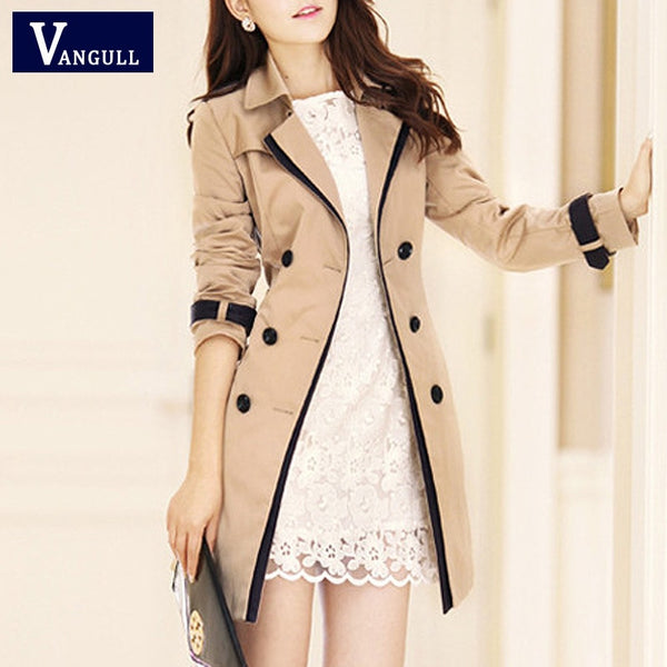 Vangull Thin Trench Coat