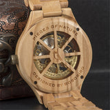 BOBOBIRD Mechanical Wood Watch