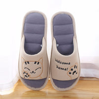 Flat Cat Slippers