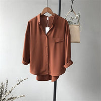 High quality Casual Chiffon Blouse