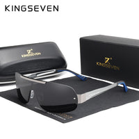 KINGSEVEN Aluminum HD Polarized Men's Sun Glasses