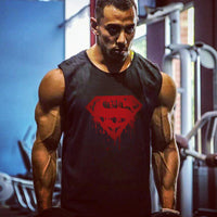Superman gym Vest