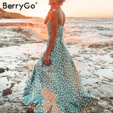 BerryGo Maxi summer dress