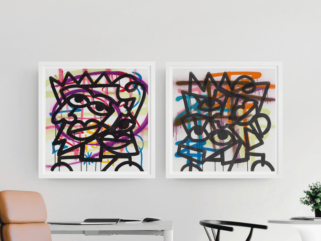 RASPBERRY SWIRL & SEVERAL SIGNATURES PRINT SET  (Limited Edition Print set)
