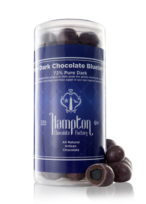 Pure Dark Chocolate Blueberries