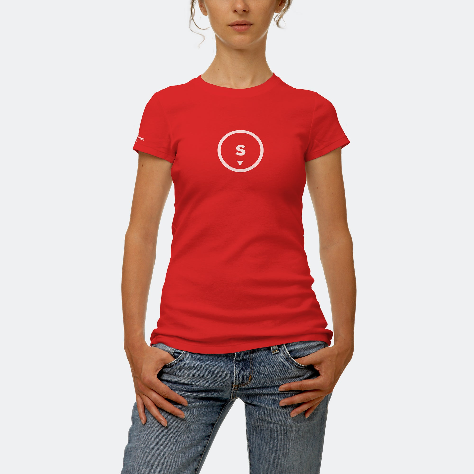 Ladies t-shirt (red)