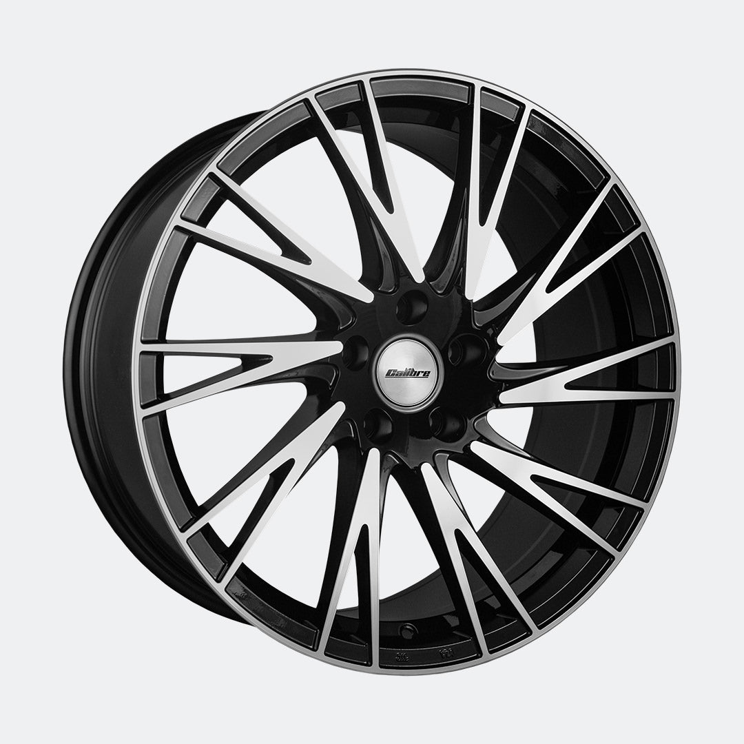Calibre Storm alloy wheels in Black Polished