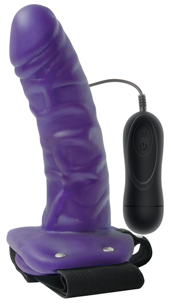 Adam and Eve Universal Vibrating Hollow Strap-On