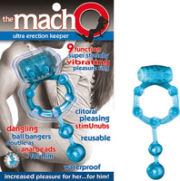 The Macho Ultra Erection- Keeper Blue