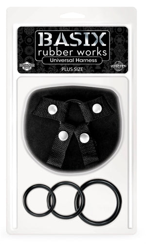 Basix Rubber Works Universal Harness - Plus Size