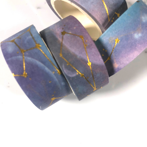 Constellation Purples Washi Tape
