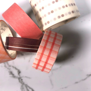 Just Peachy Shades of Washi Tape