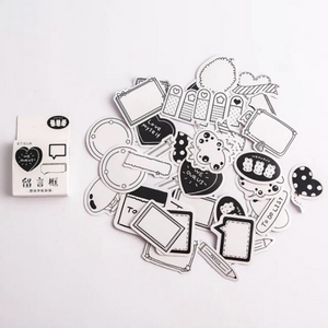 Message In A Box Sticker Set - 40pcs