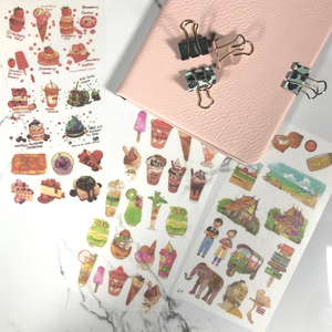 Yum Yum Sticker Sheets