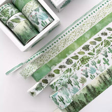 Load image into Gallery viewer, Succulents & Foliage Wash Tape