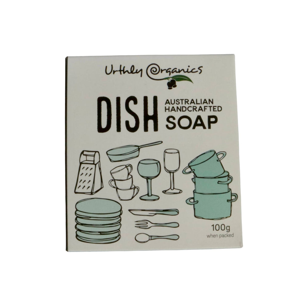 Urthly Organics dish soap bar - sustainable and certified palm oil free