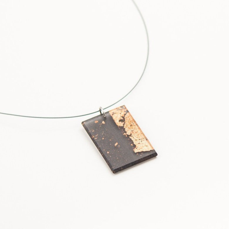 Ecoresin Gild Copper Necklace - Dconstruct