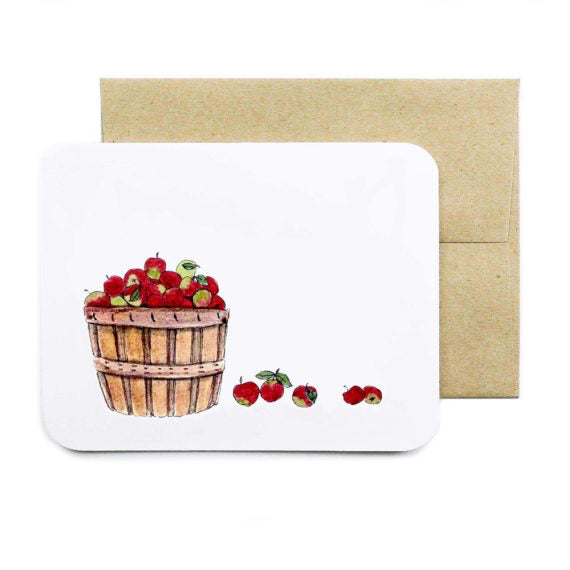 Basket of Apples - All Occasion Card - Field Day Paper