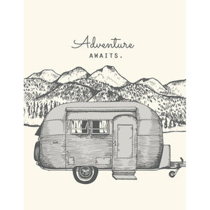 """Airstream Adventure"" All Occassion Card - The Good Days Print Co."