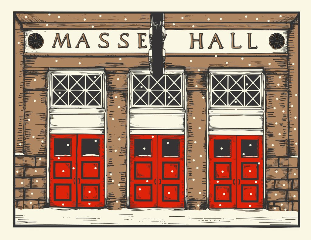 """Massey Hall"" Holiday Card - The Good Days Print Co."