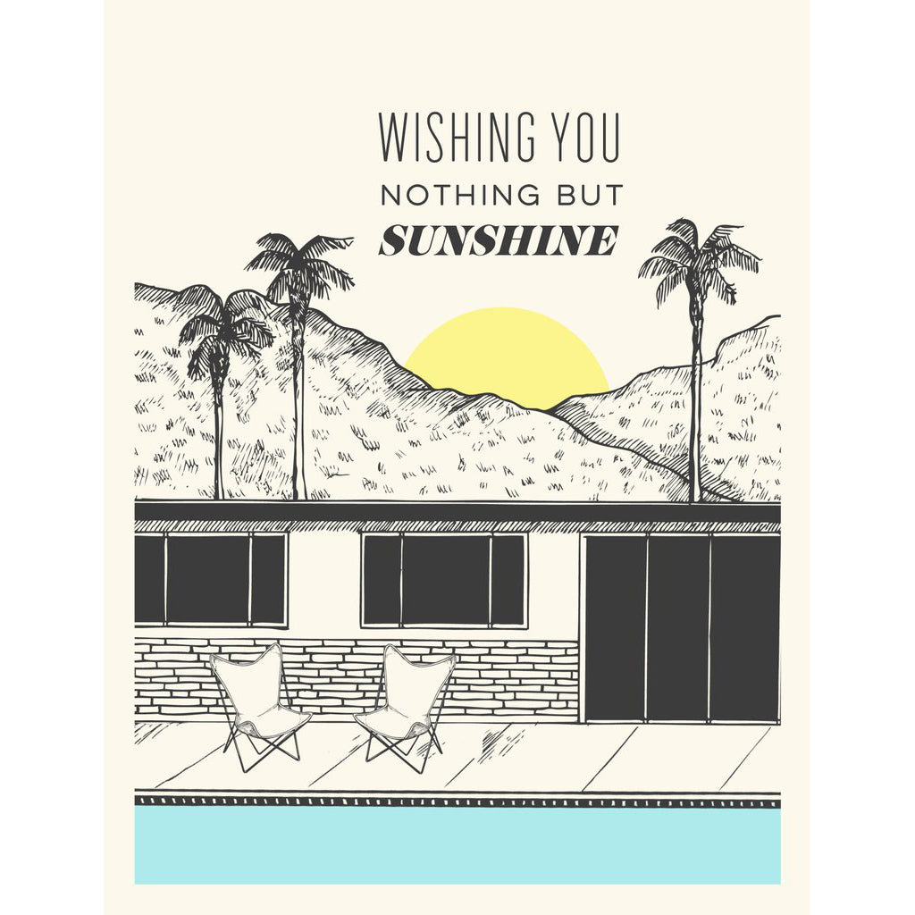 """Sunshine"" Encouragement Card - The Good Days Print Co."