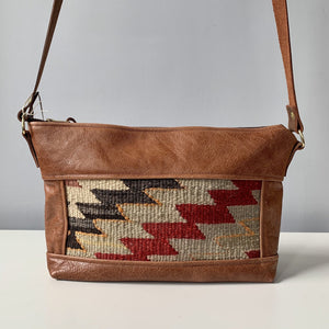 Marmouche Shoulder Bag - Red/Brown - Grace Designs