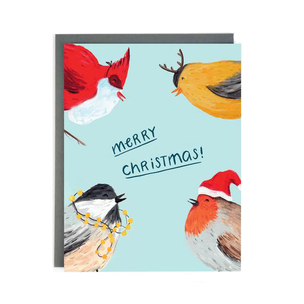 Christmas Birds - Holiday Card - Made in BV