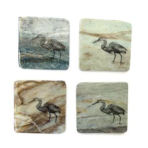 Granite Coasters - Heron - Madoc Rocks