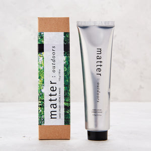 Biodegradable Hand Creme by Matter: Outdoors