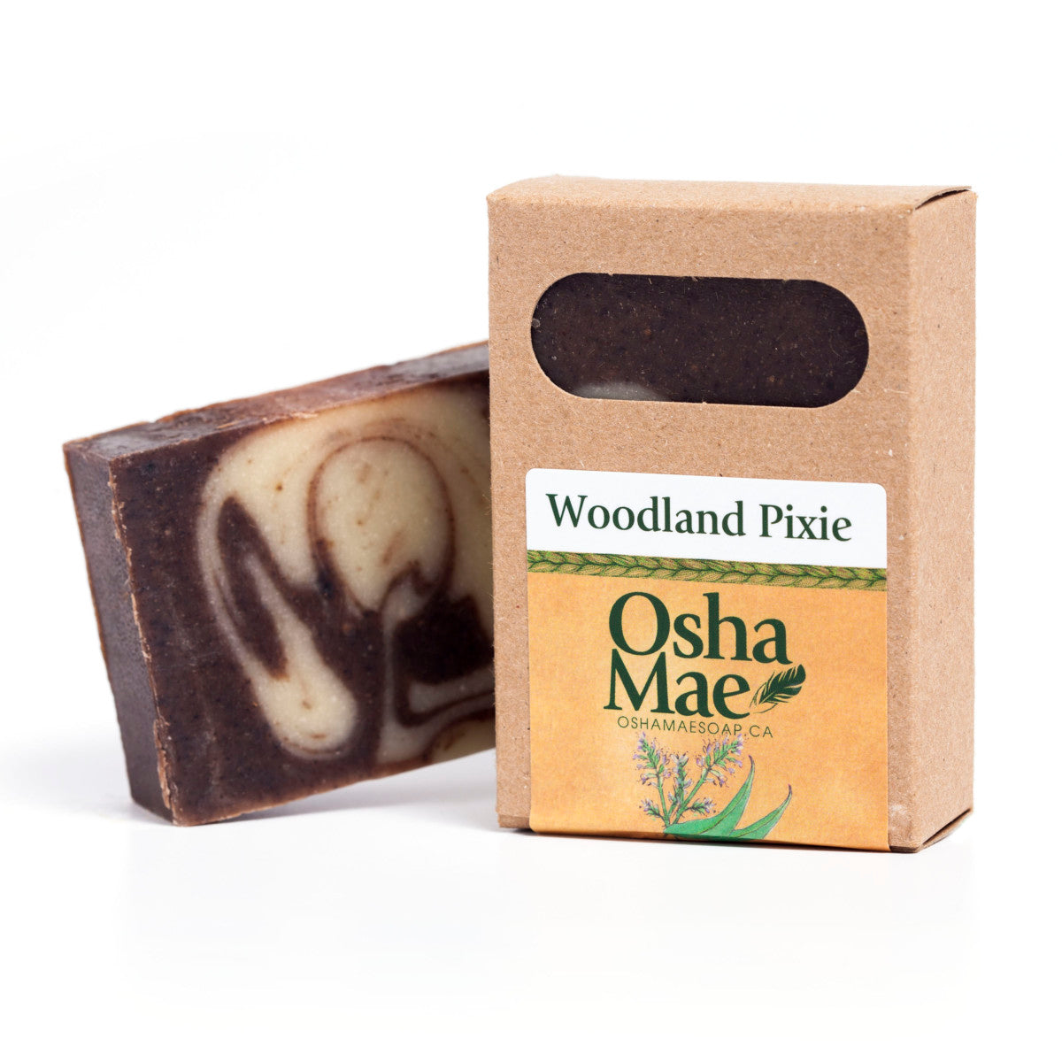 """Woodland Pixie"" Natural Soap Bar - Osha Mae Soap"