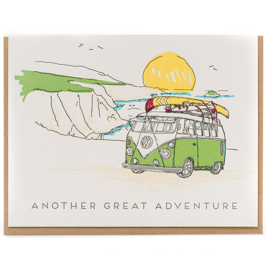 """Another Great Adventure"" All Occasion Card - Porchlight Press"