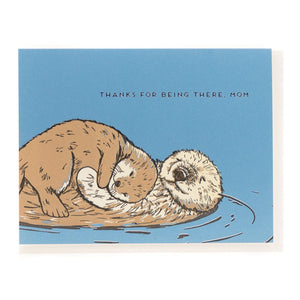 """Otter"" Mother's Day Card - Porchlight Press"
