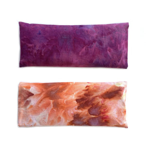Lavender Eye Pillow - Hand-Dyed Pink/Purple - Samyoga