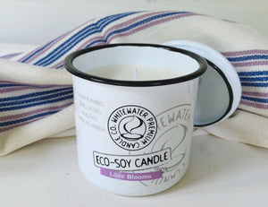 """Lilac Blooms"" Eco Soy Candle - Whitewater Premium Candle Co."