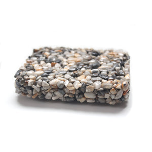 Made in Canada beach pebble soap dish
