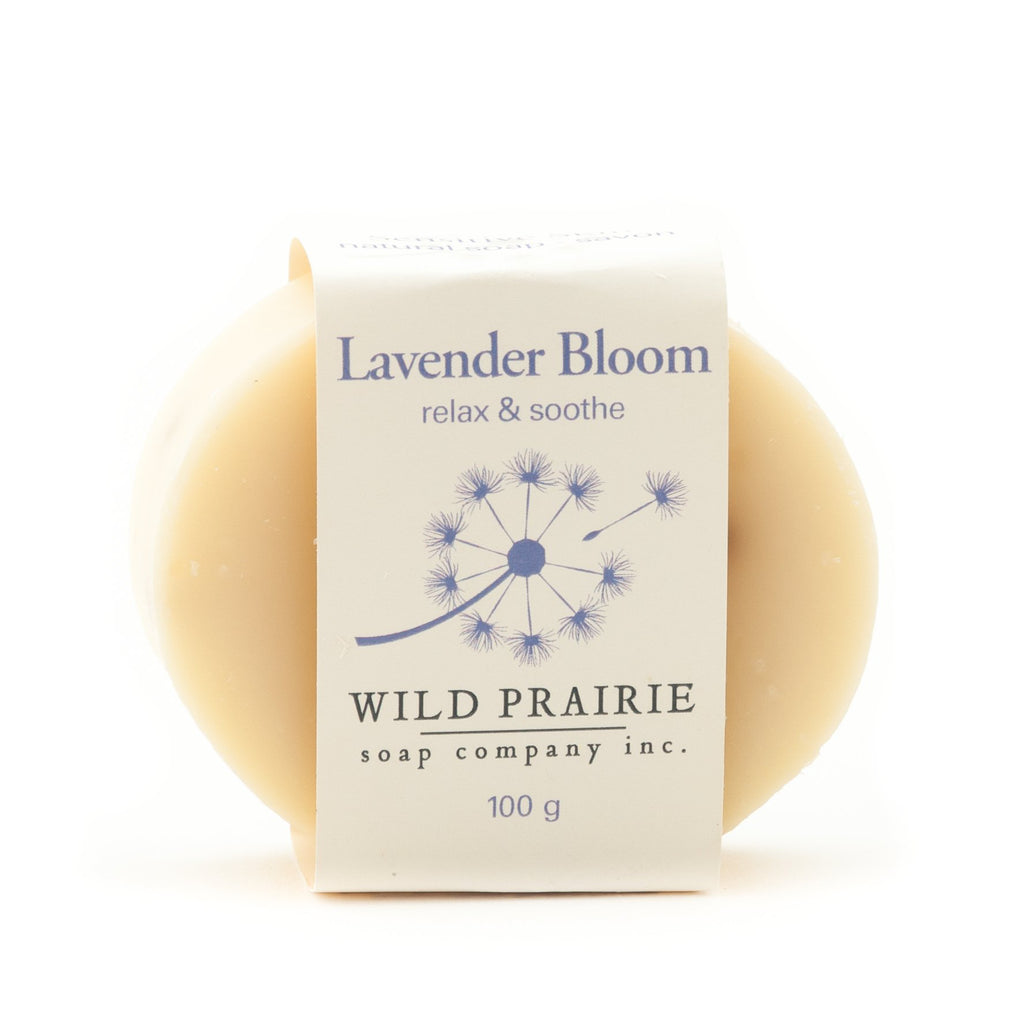 """Lavender Bloom"" Natural Soap Bar - Wild Prairie Soap Company"