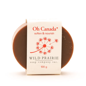 """Oh Canada"" Natural Soap Bar - Wild Prairie Soap Company"