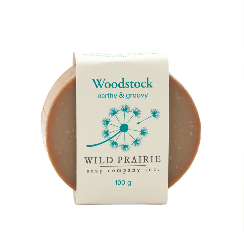 """Woodstock"" Natural Soap Bar - Wild Prairie Soap Company"