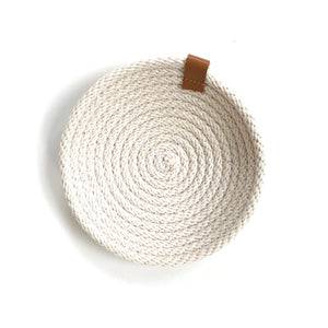 Cotton Jewellery/Watch Dish - Woven Handmade