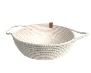 Cotton Catch-All/Bread Basket - Woven Handmade