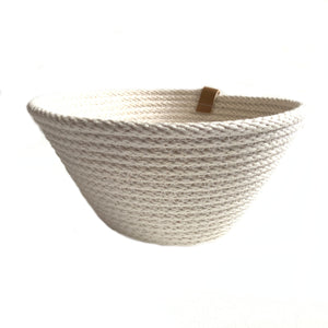 Cotton Basket - Planter - Woven Handmade