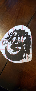 Dragon of the Shimmering decal - Pharoah Tom's Collections