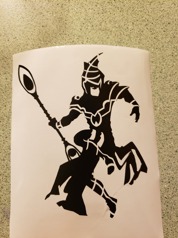 Dark Magician Decal - Pharoah Tom's Collections