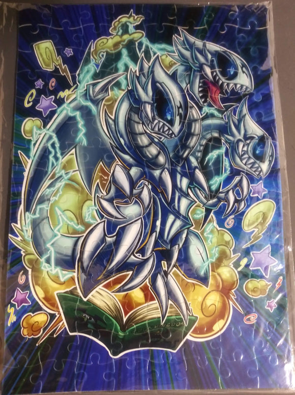 Toon Blue Eyes Ultimate White Dragon puzzle - Pharoah Tom's Collections