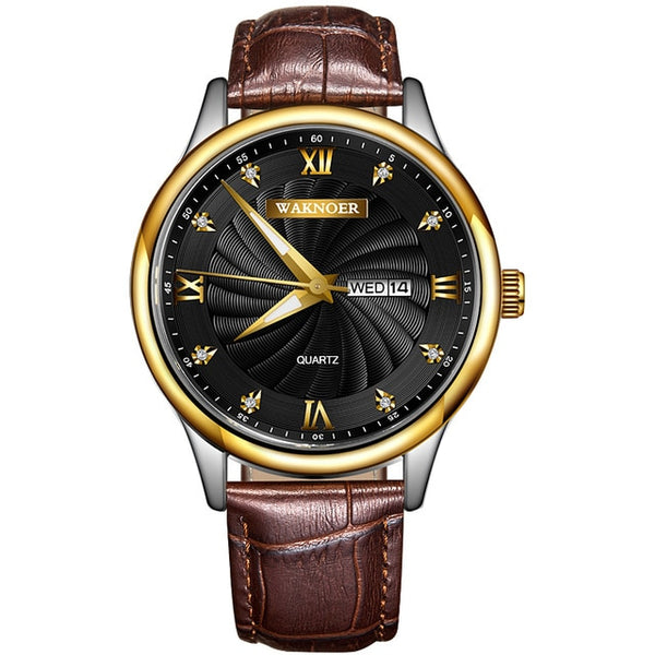 Men's Exotic Quartz Wristwatch