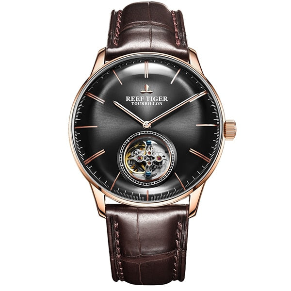 Luxury Automatic Tourbillon Watch for Men